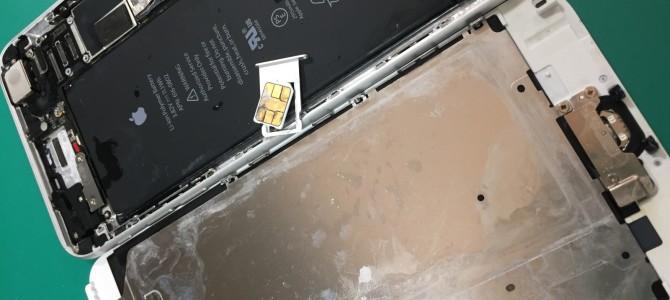 iPhone修理<先週末〜昨日>