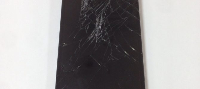 iPhone5sガラス割れ修理!