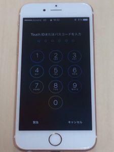 iPhone6s修理後28/12/26