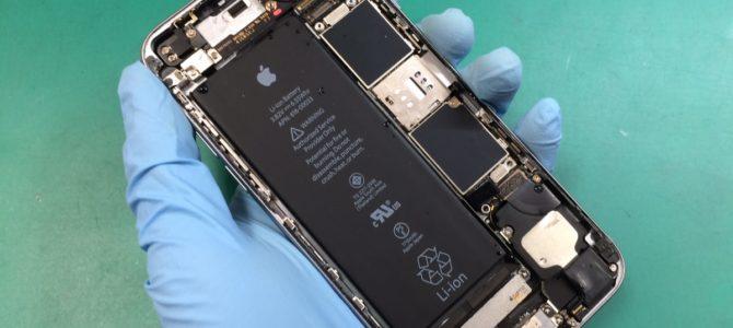 iPhone6s水没復旧修理 札幌市中央区より『トイレに落としてしまって・・・』