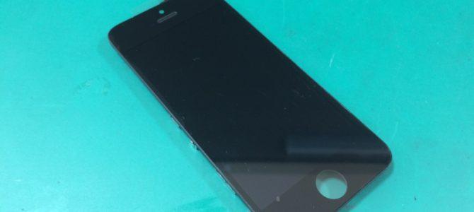 iPhone5sフロントパネル交換 札幌市中央区より『何回も落としていて・・・』
