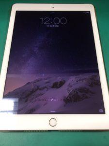 iPadAir2修理後29/01/30