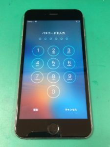 iPhone6Plus修理後29/02/08