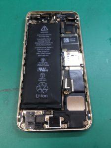 iPhone5s修理前29/02/22
