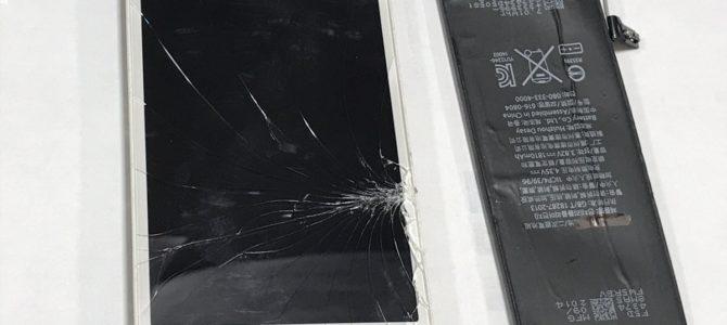 iPhone5 バッテリー交換修理 札幌市中央区より 『落としてしまい・・・』