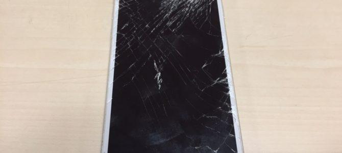iPhone6 フロントパネル交換修理 札幌市中央区より 『不注意で落としてしまった・・・』