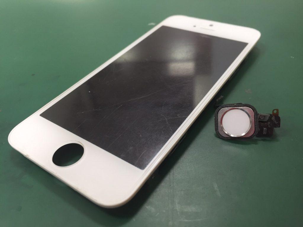 iPhone5sホームボタン修理.0415