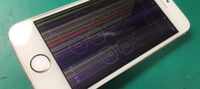 落として画面に線が・・・iPhone修理専門店アイフォンクリア 札幌琴似ブログ2017/10/23