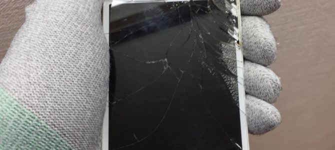 【iPhone5s 液晶割れ修理】iPhone修理専門店アイフォンクリア 札幌新川ブログ2017/11/11