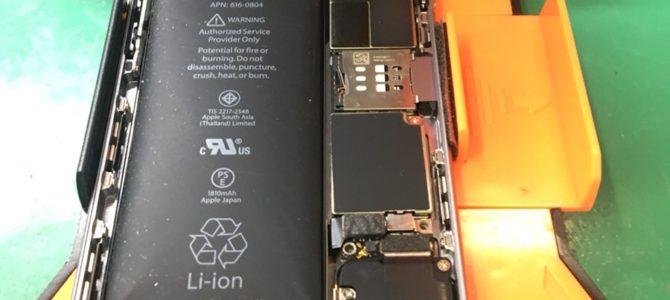 【iPhone6バッテリー交換】膨張してます!iPhone修理専門店アイフォンクリア札幌伏古ブログ2017/12/15