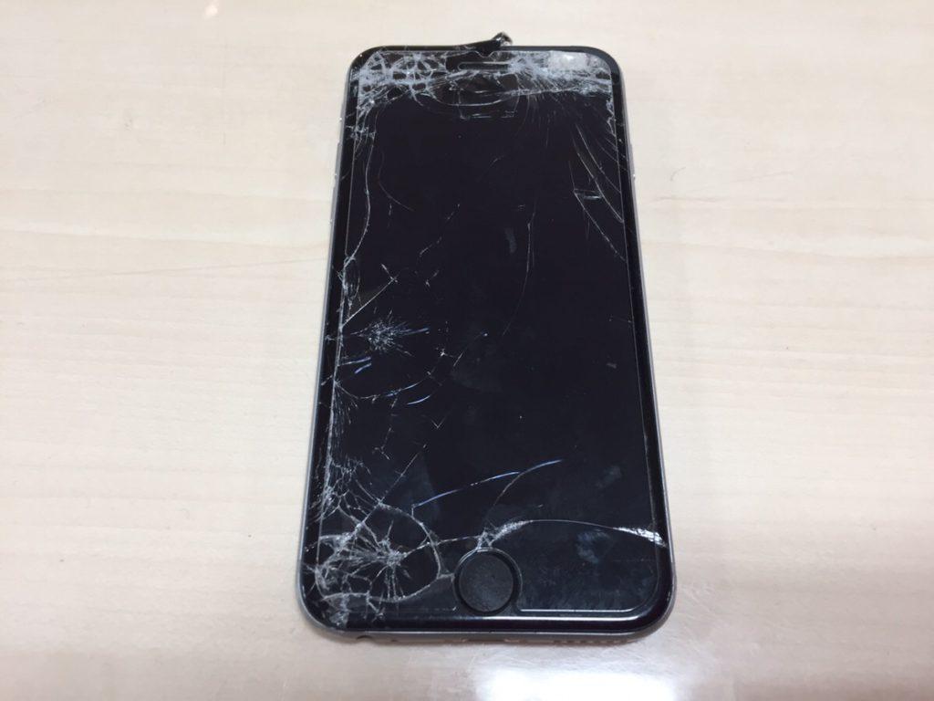 iPhone6フロントパネル修理.0408