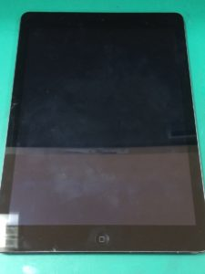 iPad Air修理前29/04/05