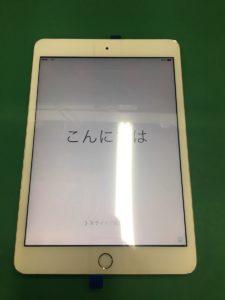 iPadMiniガラス交換4