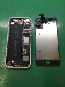 iPhone5C液晶交換