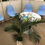 アイフォンクリアMEGAドンキホーテ店の待合室