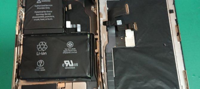 iphoneXの修理もアイフォンクリアすすきのラフィラ店へ!!!