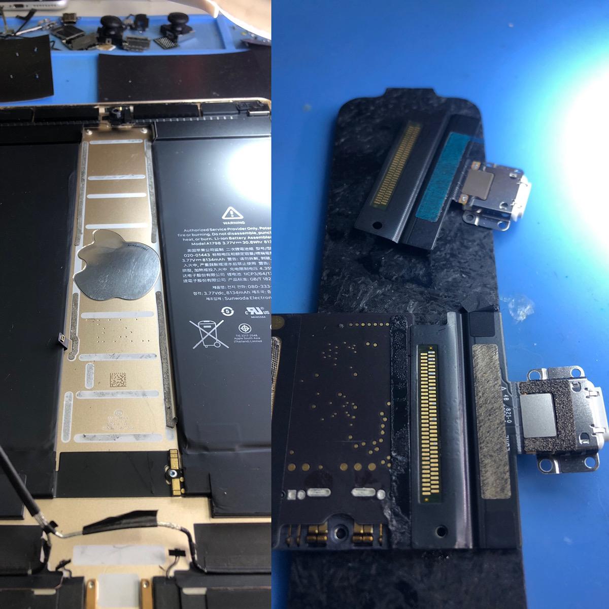 iPadPro10.5ライトニングコネクター交換