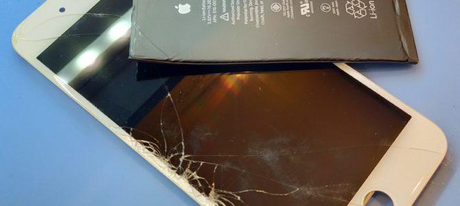 iPhoneのバッテリー、画面割れの交換ならアイフォンクリアRASORA札幌店へ